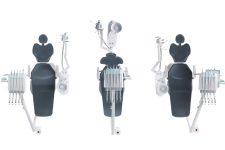 Anthos R7 véritable fauteuil dentaire ambidextre